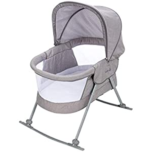 Safety 1st Nap and Go Rocking Bassinet, Star Gazer, One Size