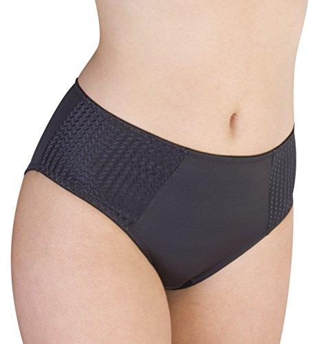 Carole Martin Women's Underwear Hipster Panties, Ultra Soft Microfiber Comfort Briefs Black