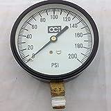 OCI 0-200 psi calibre 3 pulgadas cara
