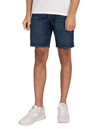 Levi's 501 Hemmed Pantalones Cortos, Fire GOIN' Short, 30W / 9L para Hombre