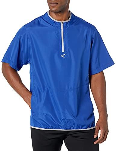 EASTON M5 CAGE Short Sleeve Jacket, Adult, Large, Royal