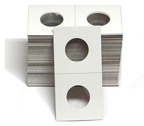 1 – 100 Pack of 2×2 Quarter Coin Cardboard Holder...