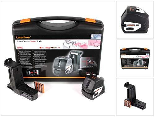 Laserliner Autocross Laser 2 XP kruislijnlaser zelfnivellerend bereik (max.): 40 m.