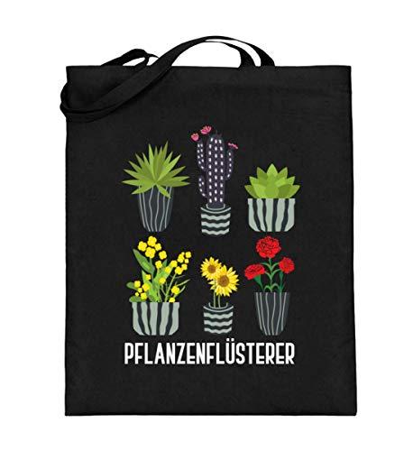 Chorchester Engrais pour jardiniers Sac en toile de jute (avec longues anses) - Noir - Noir, 38cm-42cm