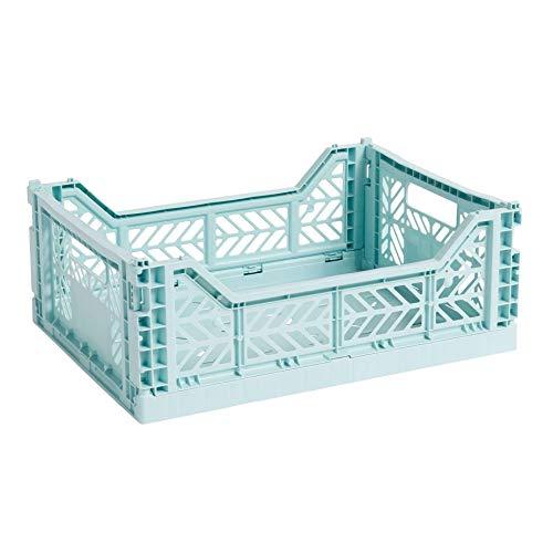 Colour Crate Korb M, arctic blue Polypropylen faltbar stapelbar LxBxH 40x30x14,5cm