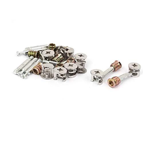 X-DREE Möbelverschraubungen Verbindungsschrauben Exzenterscheibenradmutter 10 Satz (b04efa1133d6a8be03a902f49a7806a8)