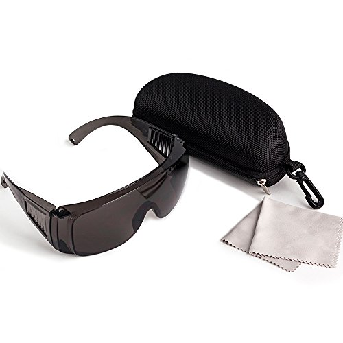 Cloudray Gafas de seguridad láser 10600nm OD4 CE Gafas protectoras para máquina de grabado de corte láser de CO2 (Estilo B)
