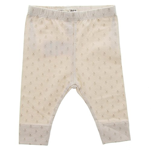 Fixoni Small Rags, Mädchen Hose, 95% Baumwolle, Beige, Gr. 92, Fly Leggings Pink Tint 60583 20-61