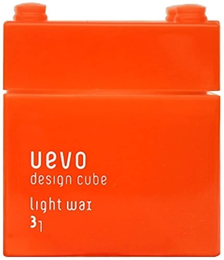 分布親指罪ウェーボ デザインキューブ ライトワックス 80g