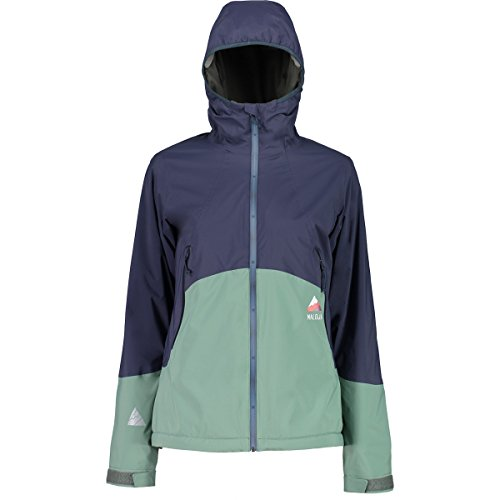 Maloja hollolam Multisport Jacke, Damen M blau (Mountain Lake)