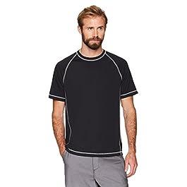 Amazon Essentials Men's Short-Sleeve Loose-Fit Quick-Dry...