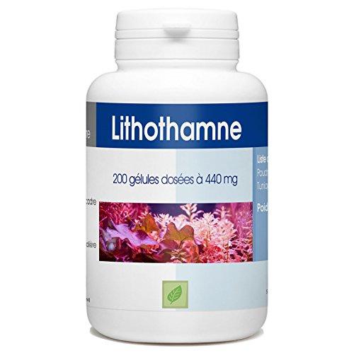 Lithotame (Lithothamne) 200 gélules 440 mg