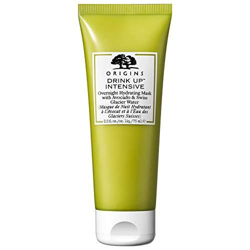 ORIGINS Drink Up Overnight Hydrating Mask Avocado-Gesichtsmaske und Gletscherwasser 75 ml