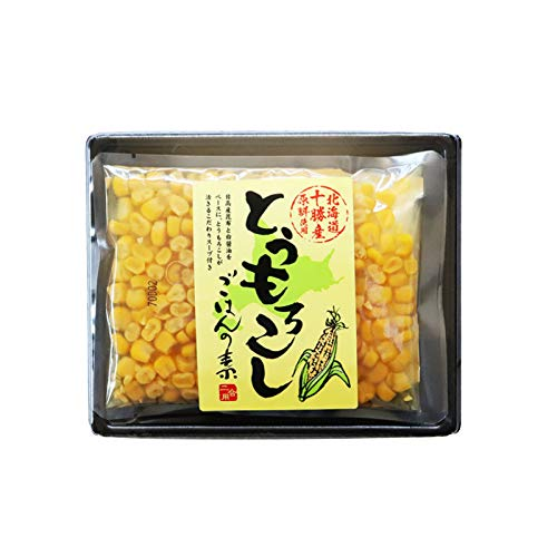北海道十勝産 とうもろこし ごはんの素 (二合用×2) 贈り物 プレゼント 北海道 北海道野菜 まぜるだけ 炊き込みご飯 釜めし ごはん かやくごはん