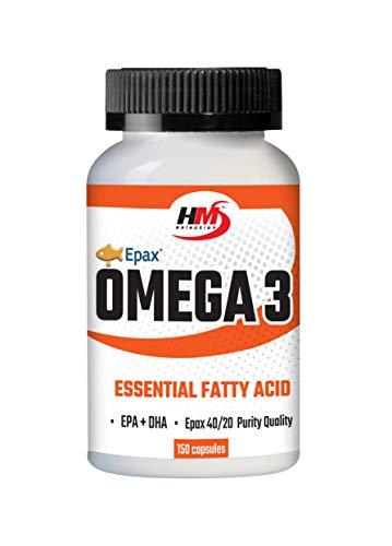 OMEGA 3 - integratore di Omega 3 - composti da olio di pesce contenenti una grande quantità di acidi grassi essenziali insaturi (150 capsule)