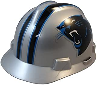 MSA NFL Team Safety Hard Hats with Staz On Suspension Suspension
