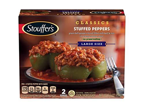 Nestle Stouffers Stuffed Green Pepper, 15.5 Ounce -- 12 per case.