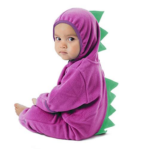 Mono Polar Bebé para Recién Nacidos a Niños 4 Años - Pijamas Infantiles Chaqueta de Invierno Abrigo Polar Niño