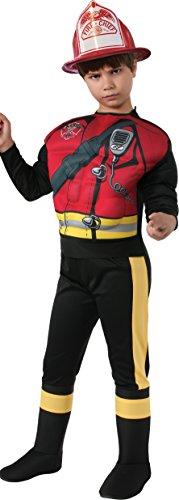 Rubie's Fireman Dress-Up Costume, Large