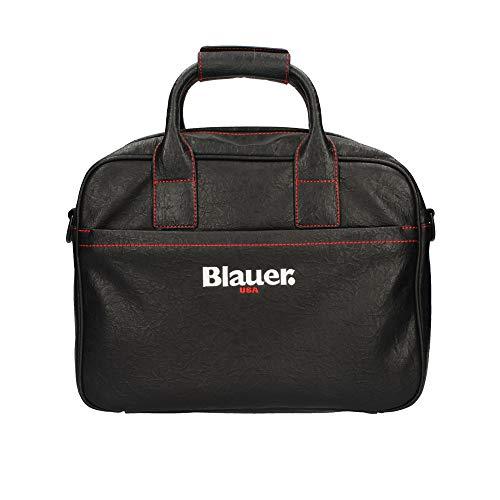 Blauer Borsa messenger uomo USA cartella lavoro porta pc nero