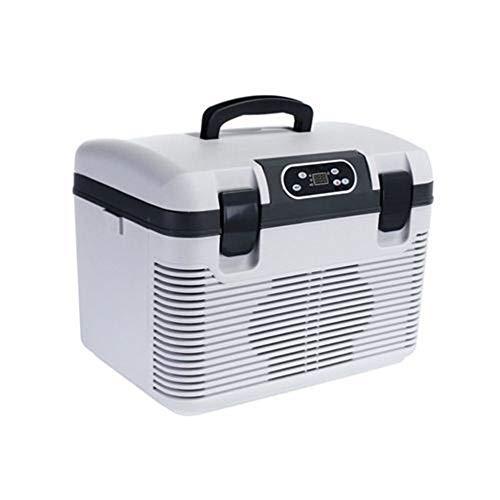 ARLT 19L Car Refrigerator DC12-24V/AC220V Freeze heating Fridge Compressor EU/AU Plug Picnic Refrigeration heating -5~65 Degrees (Color Name : EU Plug)