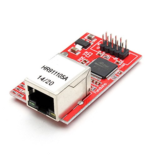 Ndt-Electronics Mini-Modul W5100 Ethernet Shield Netzwerk LAN (Arduino-kompatibel) Uno Mega 2560 Expansion Board