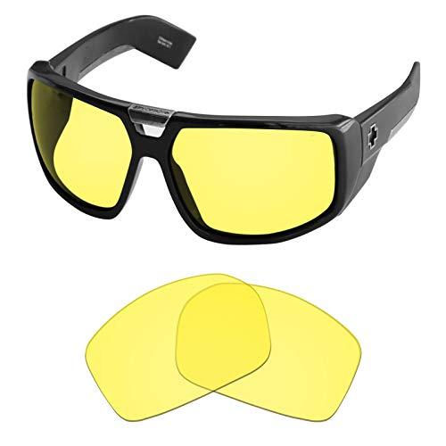 Tintart Performance Objektiv, kompatibel mit Spy Optic Touring, transparent gelb