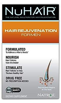NuHair Hair Rejuvenation for Men Tablets 60 Count