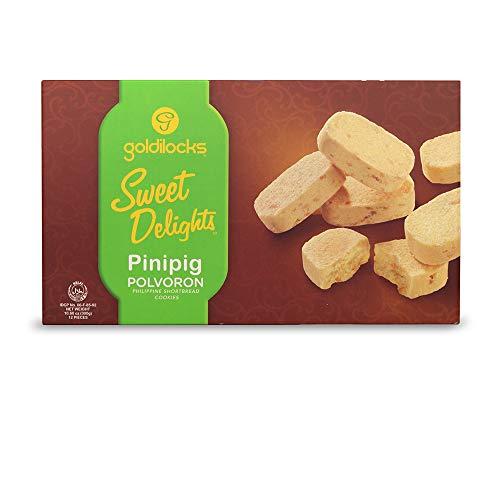 Goldilocks Sweet Delights Pinipig Polvoron 10.60oz (300g)