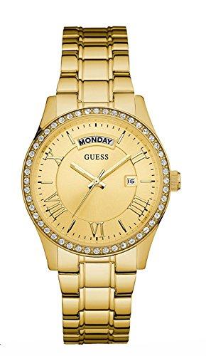 Guess Reloj analogico para Mujer de Cuarzo con Correa en Acero Inoxidable W0764L2
