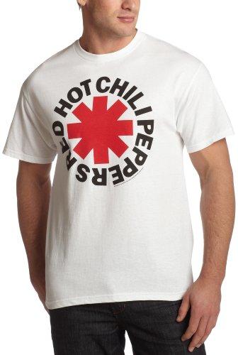 Old Glory - Camiseta - Hombre - Old Glory Uomo Red Hot Chili Peppers - Asterisk Logo (Camiseta) - Small Bianco