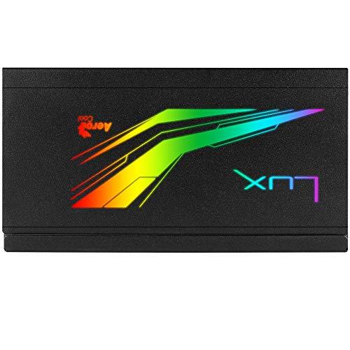 Aerocool LUX RGB M 750 W 80+ Bronze Certified Semi-modular ATX Power Supply
