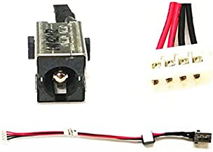 QUETTERLEE Replacement 6017B0402701 DC POWER JACK PORT SOCKET HARNESS CONNECTOR PLUG DC-IN CABLE For Toshiba SATELLITE C55-A C55-A5310 C55t C55Dt C55T-A5222 C55T-A5218 C55D-A5307