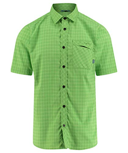 Meru Herren Outdoor-Hemd Egio Kurzarm grün (400) XL