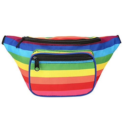 80s Rainbow Pride Bum Bag for Men or Women