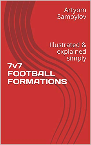 7v7 FOOTBALL FORMATIONS: Illustrated & explained simply (Volume Book 1)