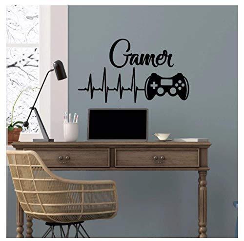Vinilo Pegatinas De Pared DIY Pegatina Desmontable Game Controllers Boys Room Póster Del Juego De Playstation 57X33cm