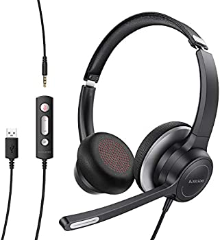 Soulsens Noise Cancelling USB Headset with Microphone