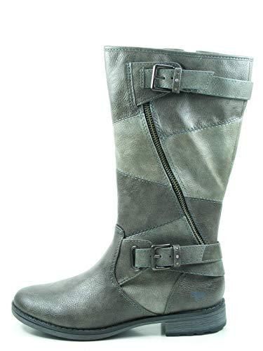 MUSTANG Damen Stiefel Grau kombinierter Stiefel 1265507-20 grau 382151