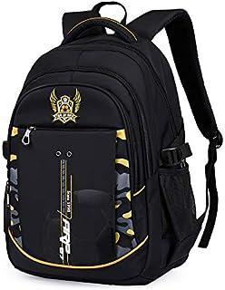 Meetbelify Big Kids School Backpack For Boys Kids Elementary School Bags Out Door Day Pack