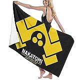 Lsjuee Toalla de baño, 80X130Cm Die Hard Nakatomi Corp Logo Toallas de baño Toallas de baño de Playa súper absorbentes para Gym Beach SWM SPA
