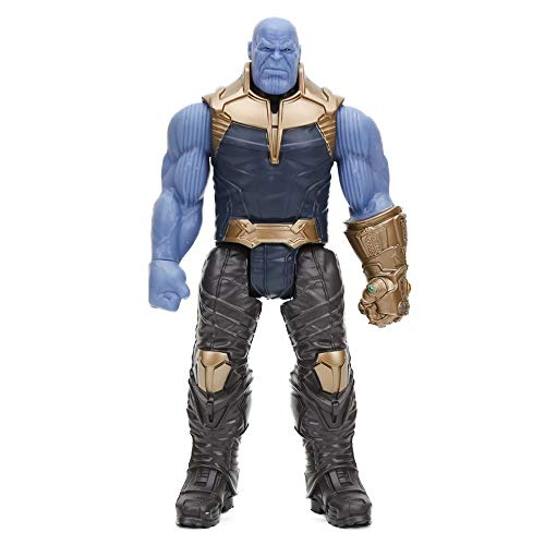 CBSTD Marvel Toys The Avenger Endgame 30CM Super Hero Thor Captain Thanos Wolverine Spider Man Iron Man Action Figure Toy Dolls (thanos opp)