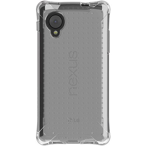 Ballistic Jewel Case for the LG Nexus 5 D820/D821 released 2013 - Retail Packaging - Clear