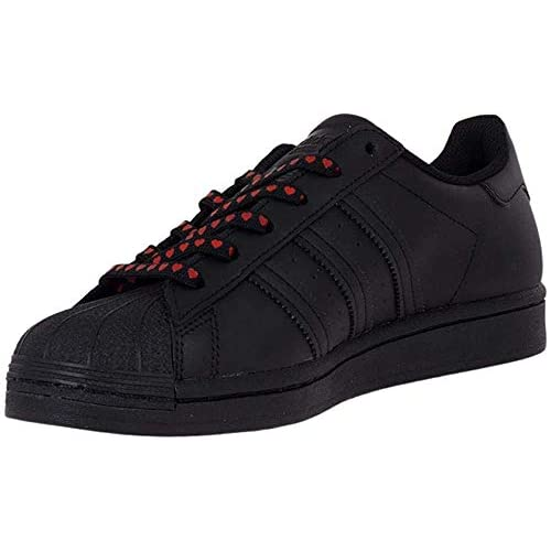 adidas Superstar W, Scarpe da Ginnastica Donna, Core Black/Ftwr White/Glory Pink, 36 EU