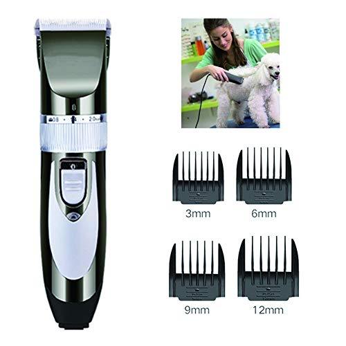 Pet Tondeuse Met Vijf Gear Aanpassing Plug-In Rustig Thuis Beauty Elektrische Tondeuse Voor Langharige Dieren Honden, Katten, Konijnen