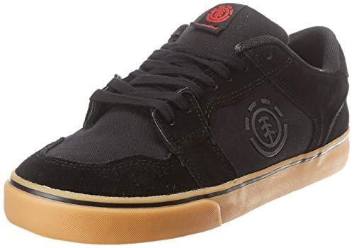 Element, Zapatillas para Hombre, Negro (Black Gum Red 3545), 45 EU