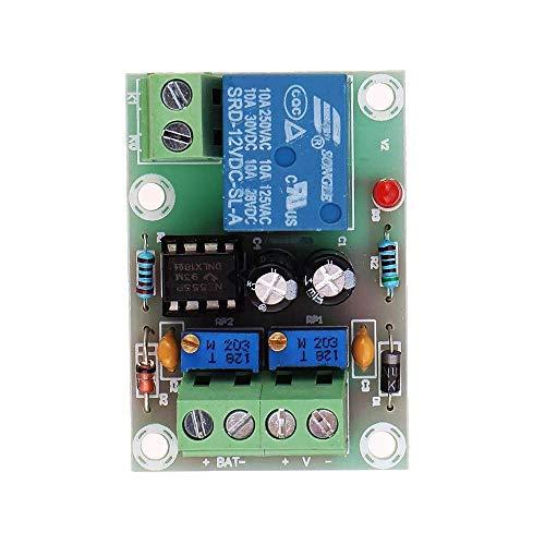 DONDOW Módulo de carga de batería 12V Cargador inteligente Cargador automático de carga de potencia de corte de energía Junta de control