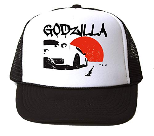 KRISSY Rising Sun JDM Godzilla Japan Auto Car Baseball Cap Unisex Mütze Kappe Hat One Size