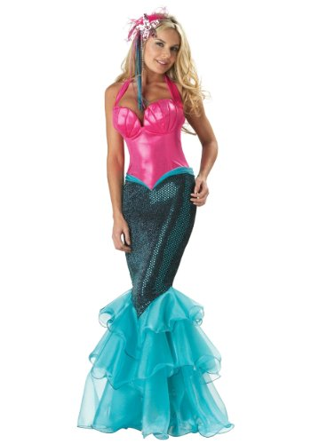 InCharacter Costumes, LLC Mermaid Fitted Gown