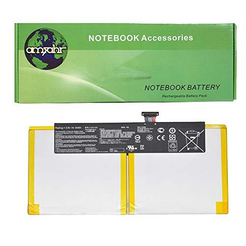 amsahr C12N1435-02 Ersatz Batterie für Asus C12N1435/ Transformer Book T100HA (3,8V/ 30WH) schwarz